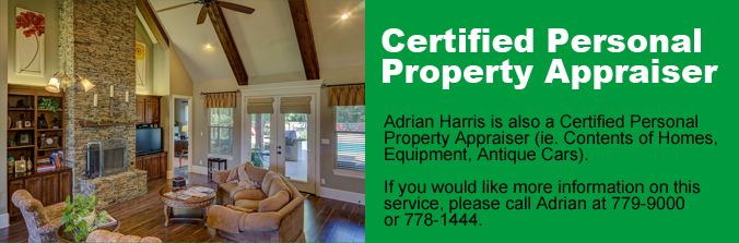 Certified Personal Property Appraisal